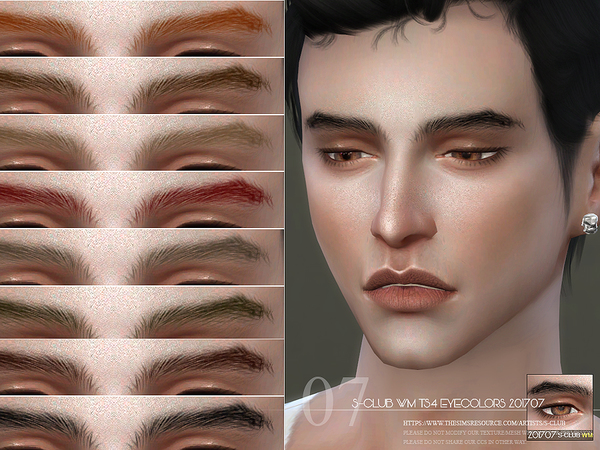 S-Club WM ts4 Eyebrows M 201707