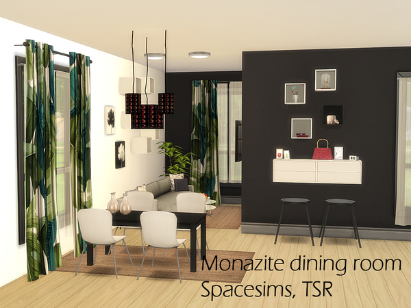 Monazite dining room by spacesims