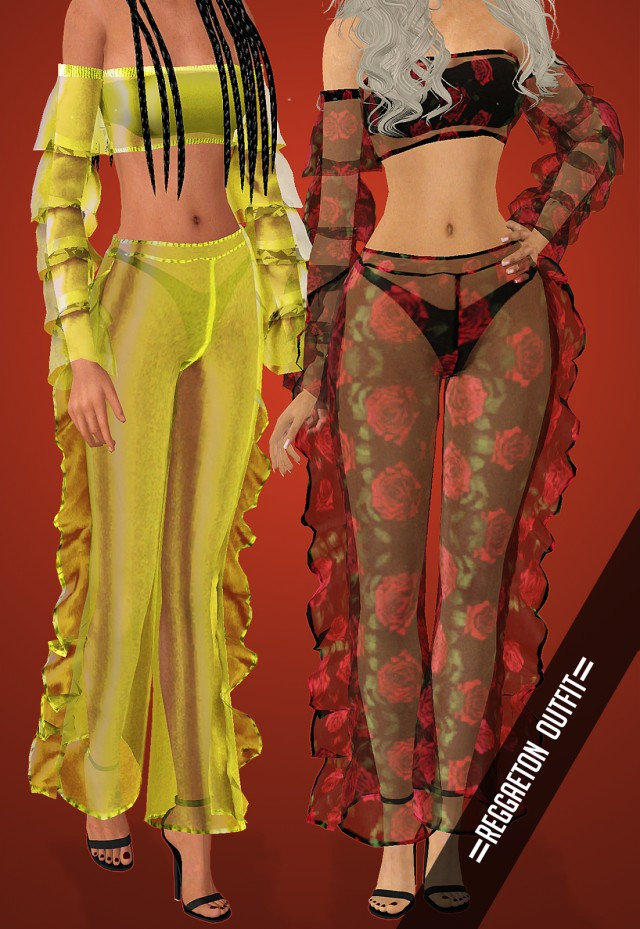 Reggaeton Outfit by Vittler Universe