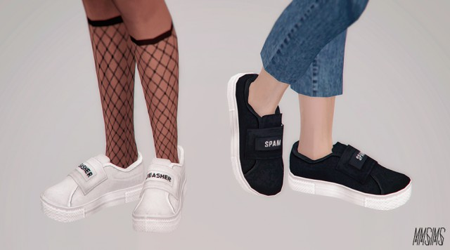SPAMMER SNEAKERS by Mmsims