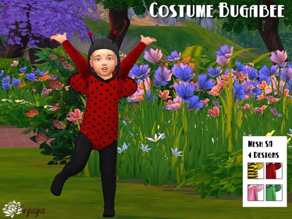 Costume Bugabee by Sims Artists