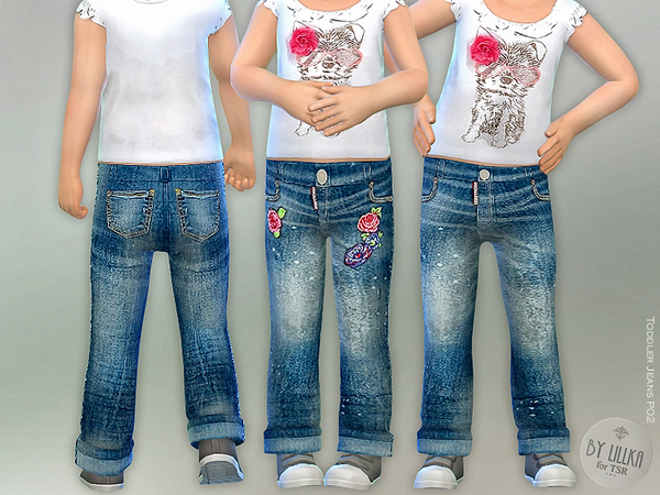 Toddler Jeans P02 by lillka