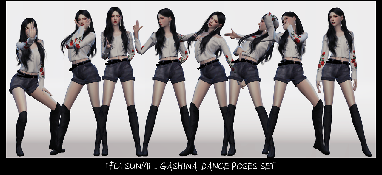 DANCE POSES SET by Flower Chamber
