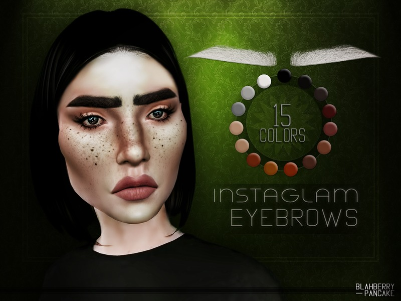 InstaGlam Eyebrows от Blahberry Pancake