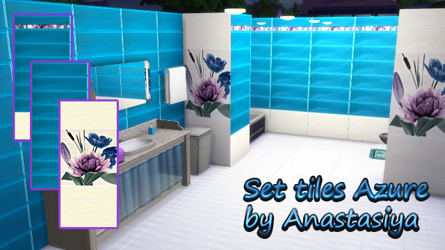 "set tiles ""Azure"" by Anastasiya"