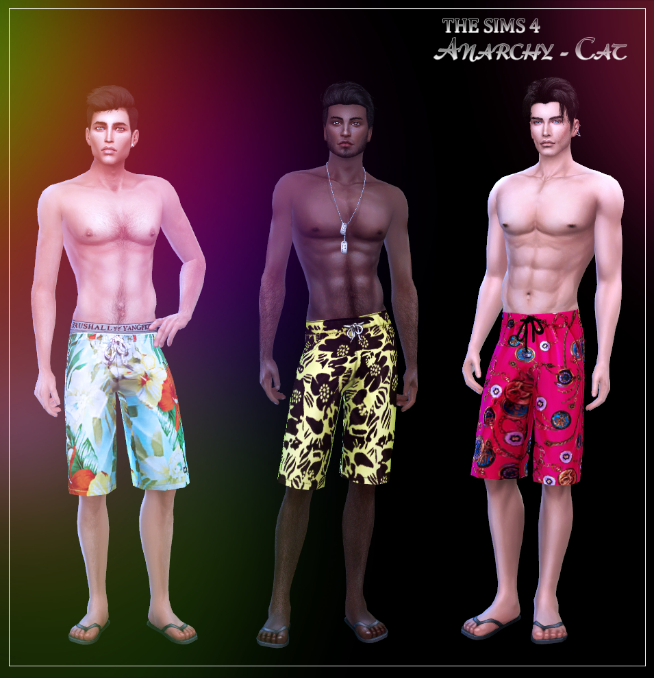 Shorts for males #2 by Anarchy-Cat