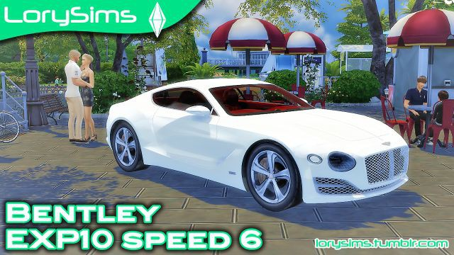Bentley EXP10 Speed 6 Concept by LorySims