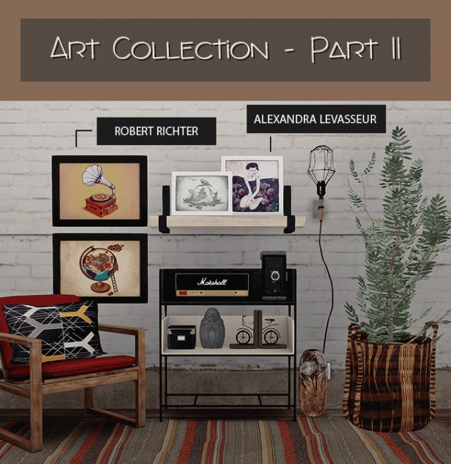 ART COLLECTION - PART II by DreamTeamSims