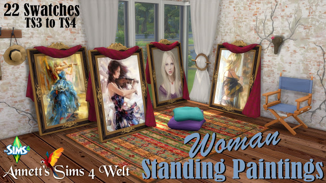 "Standing Paintings ""Woman"" by Annett85"
