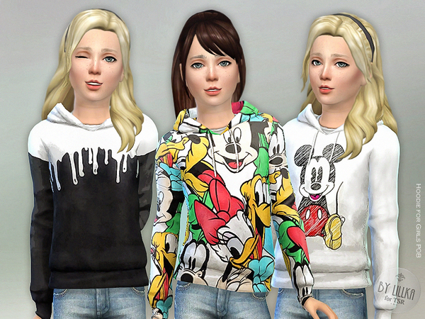 Hoodie for Girls P08 by lillka