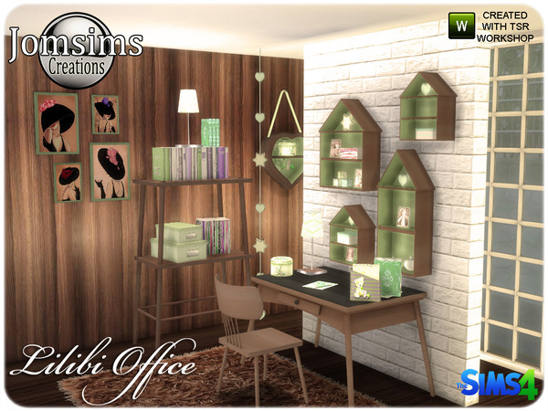 Lilibi office by Jomsims