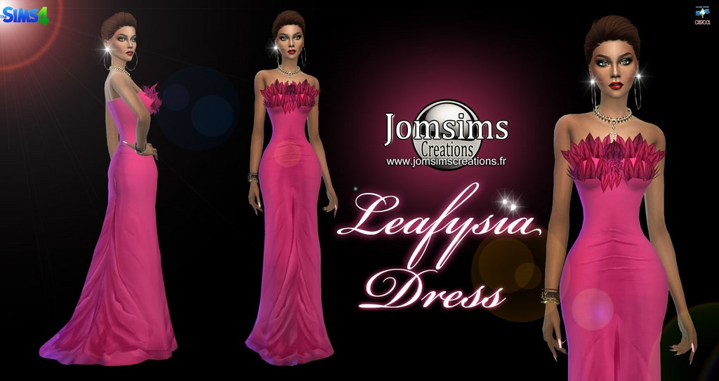 Leafysia dress by JomSims