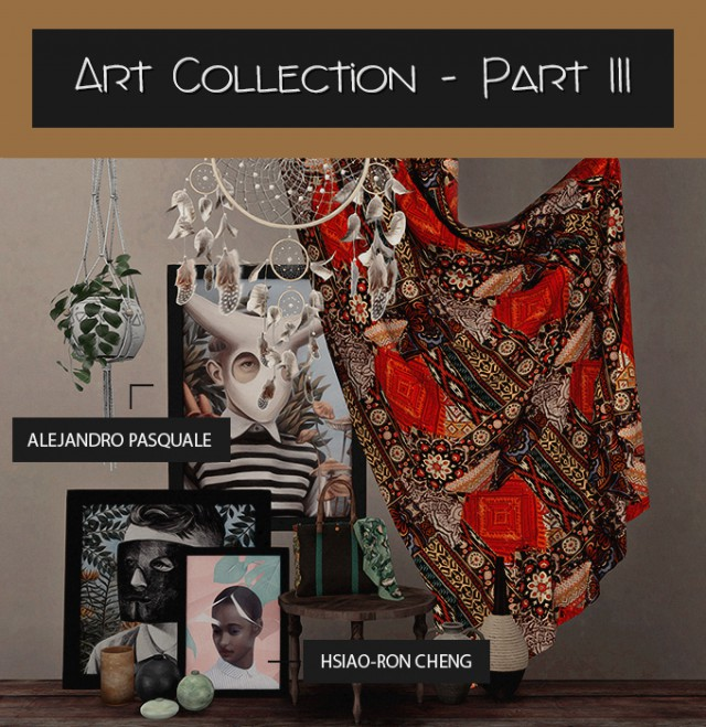ART COLLECTION - PART III by DreamTeamSims