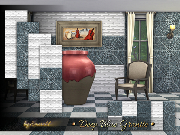 Deep Blue Granite by emerald