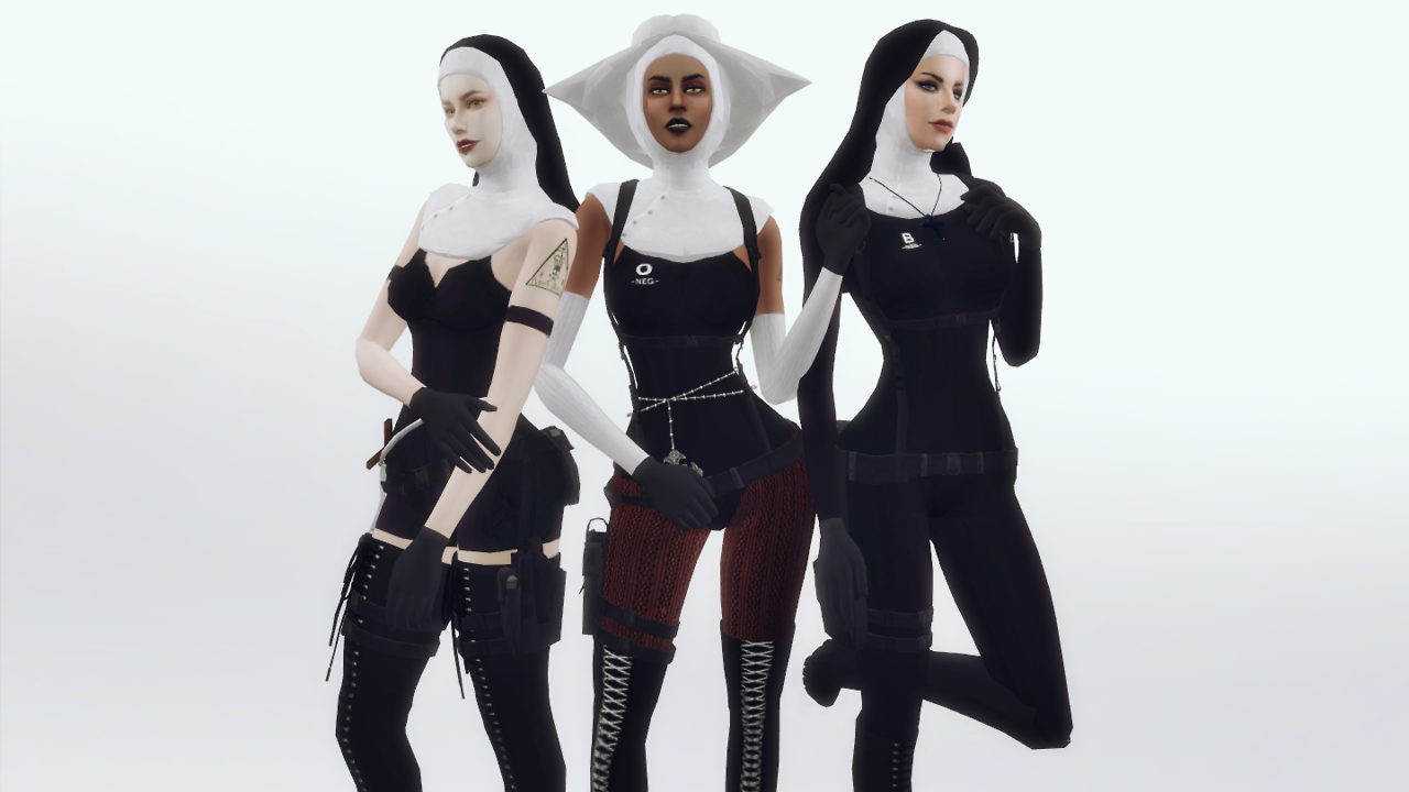 Character - The Saints from Hitman Absolution by plazasims