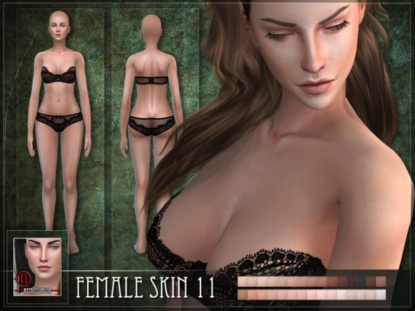 Female Skin 11 by RemusSirion