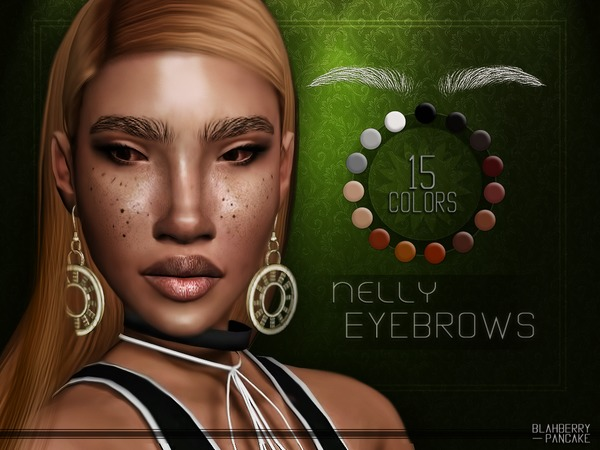 Nelly Eyebrows by Blahberry Pancake