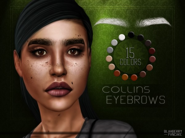 Collins Eyebrows by Blahberry Pancake