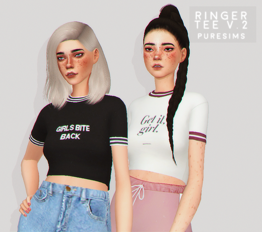 ringer tee v.2 by puresims