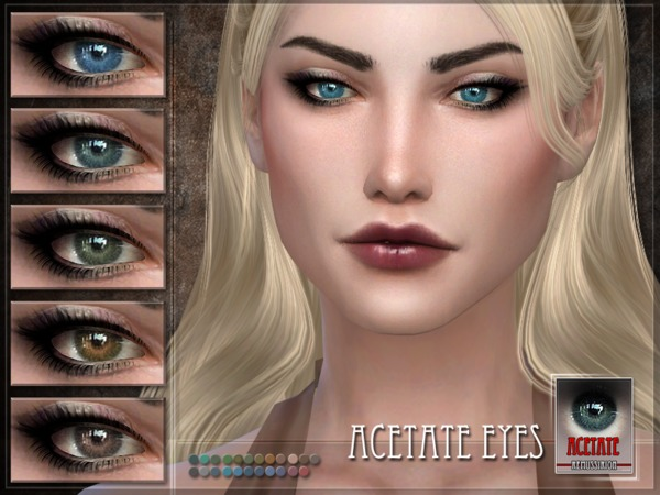 Acetate Eyes by RemusSirion