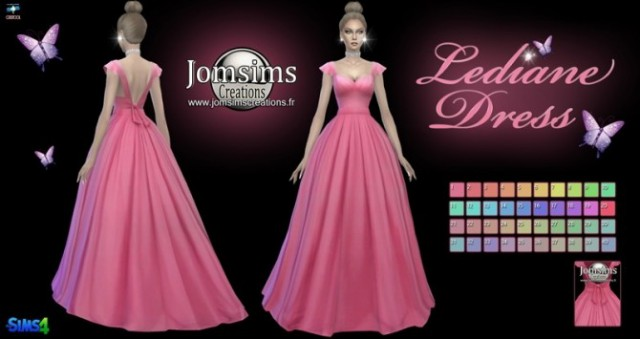 Lediane Dress by Jomsims
