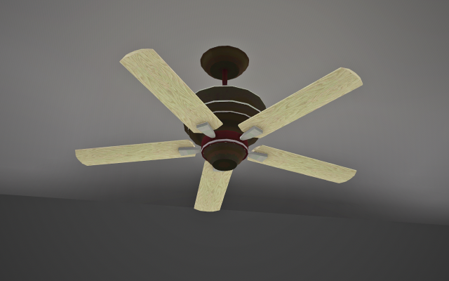 Cruddyless Ceiling Fan - Clean Redo by Mspoodle1