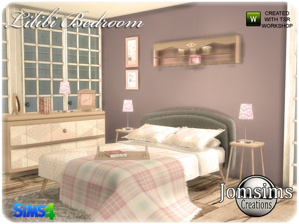 Lilibi Bedroom by jomsims