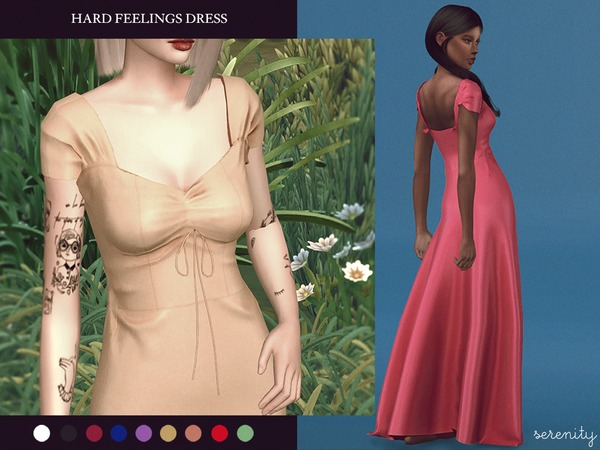 Hard Feelings Dress by serenity-cc