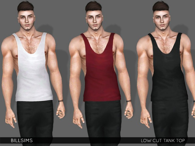 Low Cut Tank Top by Bill Sims