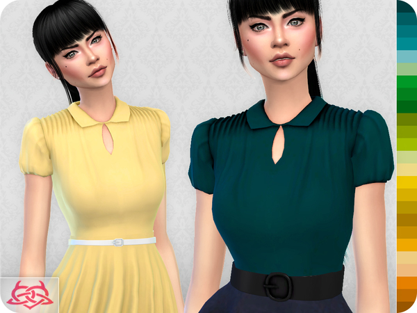 The Vanora Blouse RECOLOR 1 (Needs mesh) by Colores Urbanos