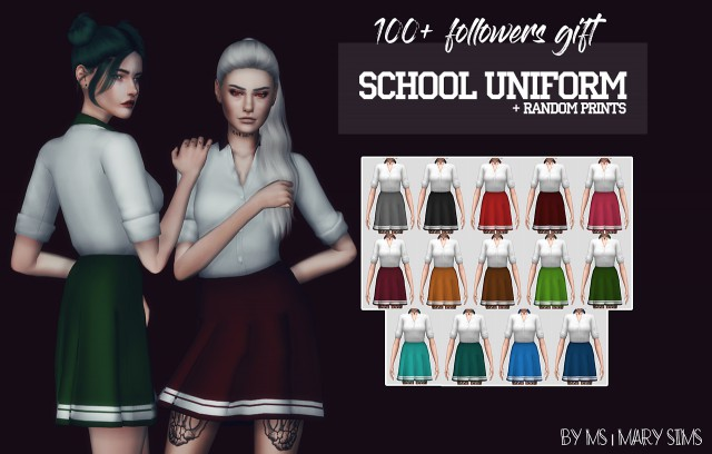 School uniform by MS-MarySims