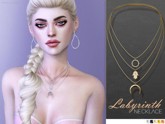 Labyrinth Necklace by Pralinesims