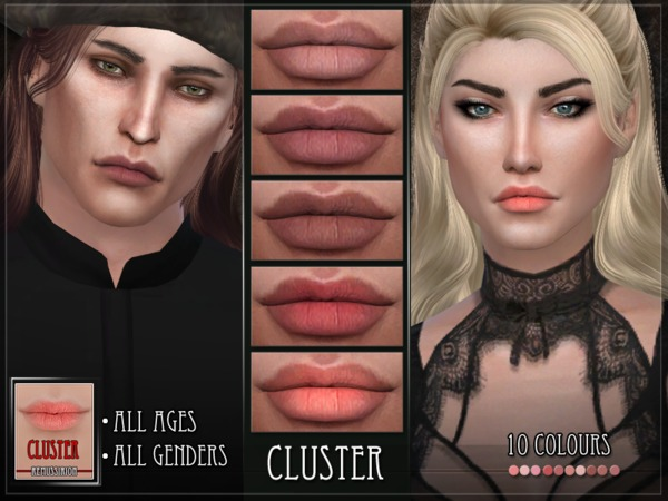 Cluster Lipstick by RemusSirion