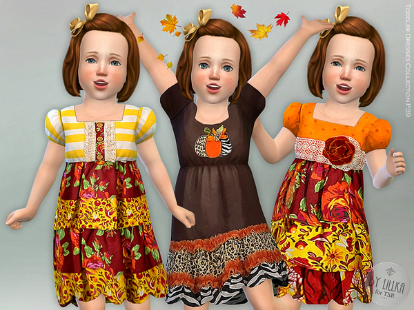 Toddler Dresses Collection P39 by lillka