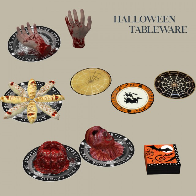 Halloween Tableware by leo-sims