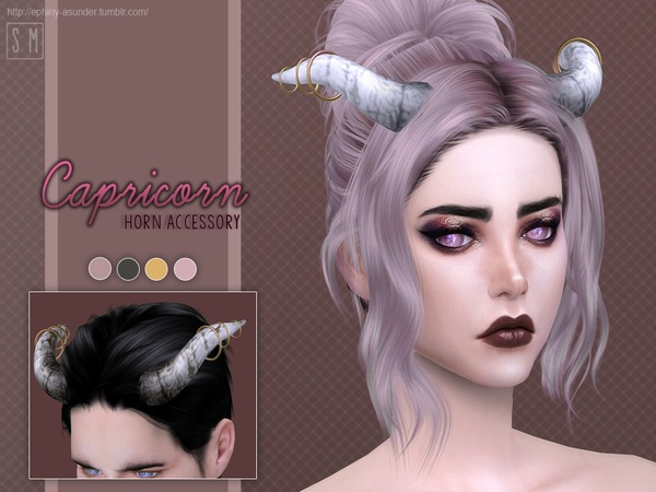 [ Capricorn ] - Horn Accessory by Screaming Mustard