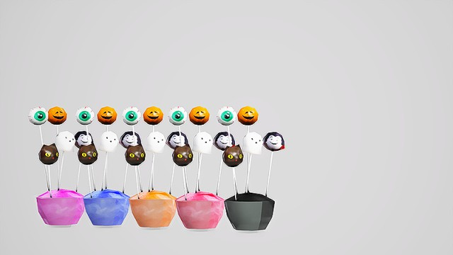 Halloween Cake Pops by simply-kita-b