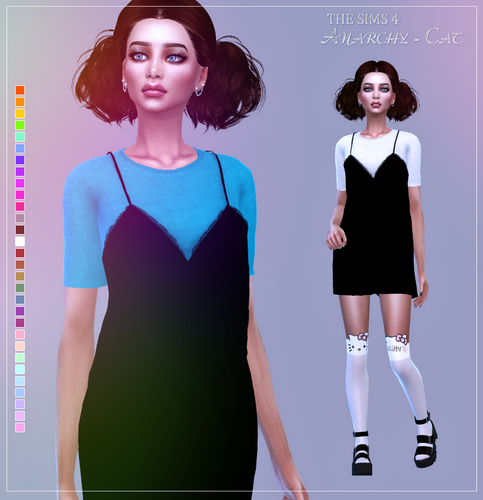 Dentelle dress by Anarchy-Cat