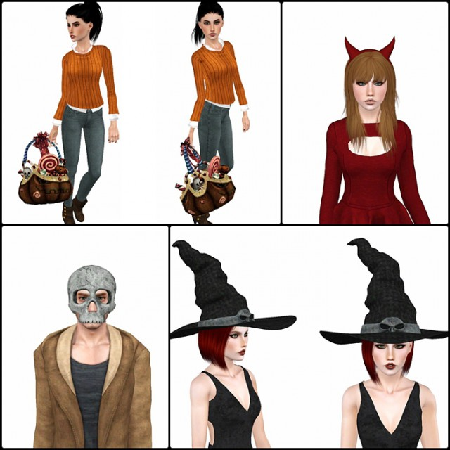 Halloween Accessories By VenusPrincess