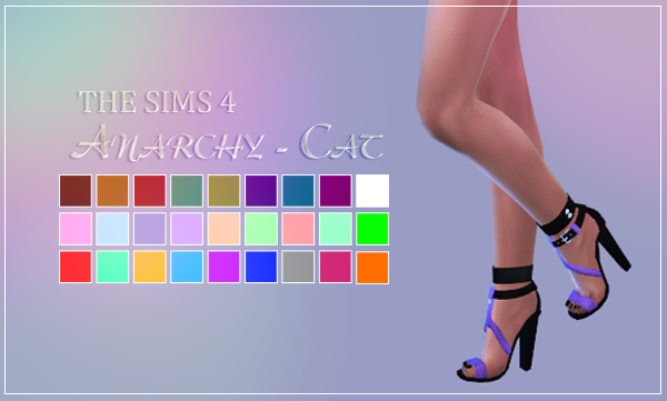 Shake Productions 53 Shoes by Anarchy-Cat