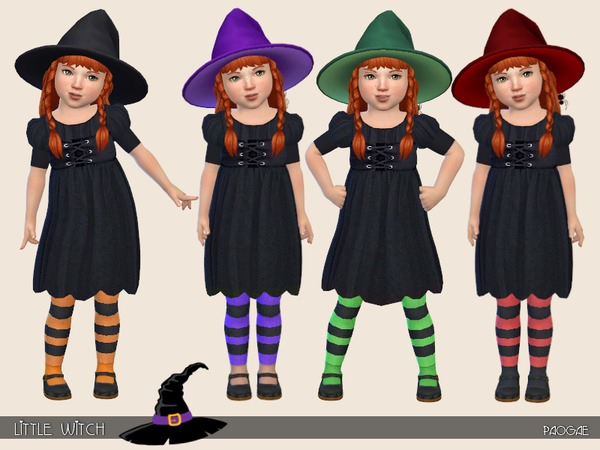 Little Witch by Paogae