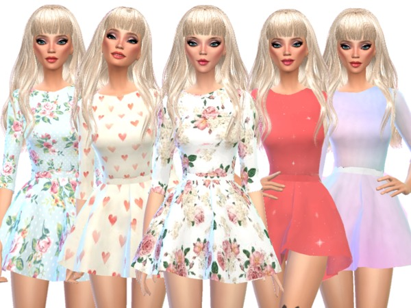 Kawaii Long-Sleeved Mini Dresses by Wicked_Kittie