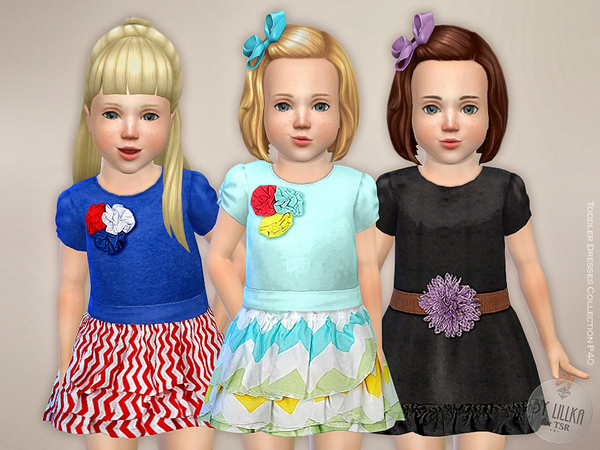 Toddler Dresses Collection P40 by lillka