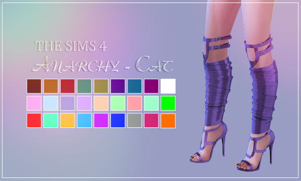 Madlen Colonia Shoes by Anarchy-Cat