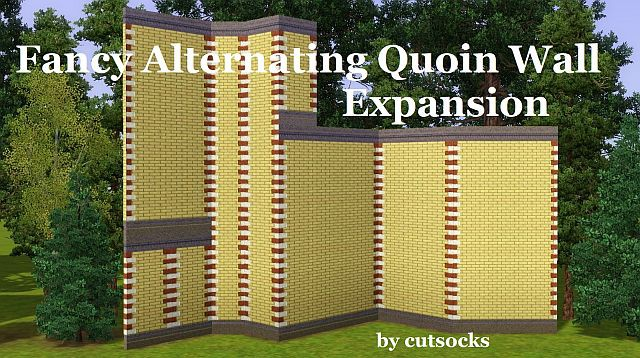 Fancy Alternating Quoin Wall Expansion by cutsocks
