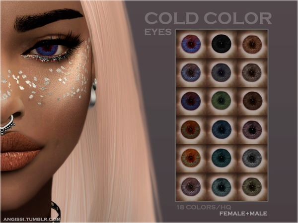 EYES - COLD COLOR by ANGISSI