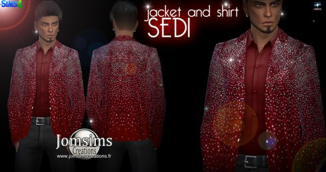 Sedi jacket and shirt by Jomsims