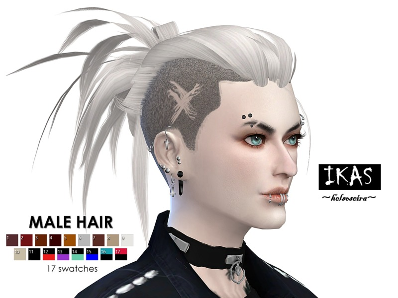 IKAS - Hair style for MALE by Helsoseira