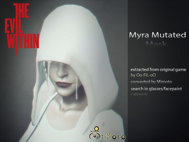 The Evil Within 2 Myra Mask by Mimoto