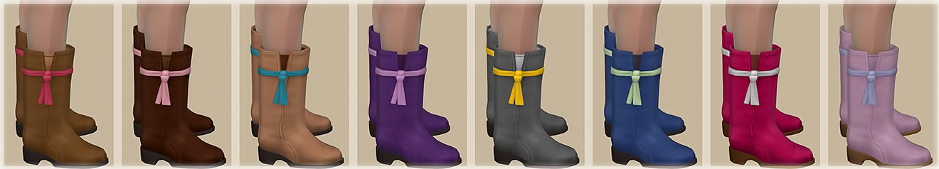 Boots by JenniSims